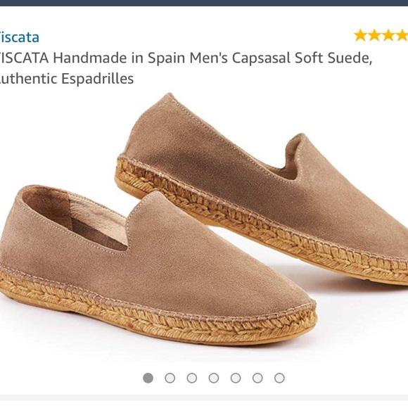 VISCATA Handmade in Spain Mens Capsasal Soft Suede Authentic Espadrilles